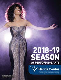 Harris Center 18/19 Brochure Cover